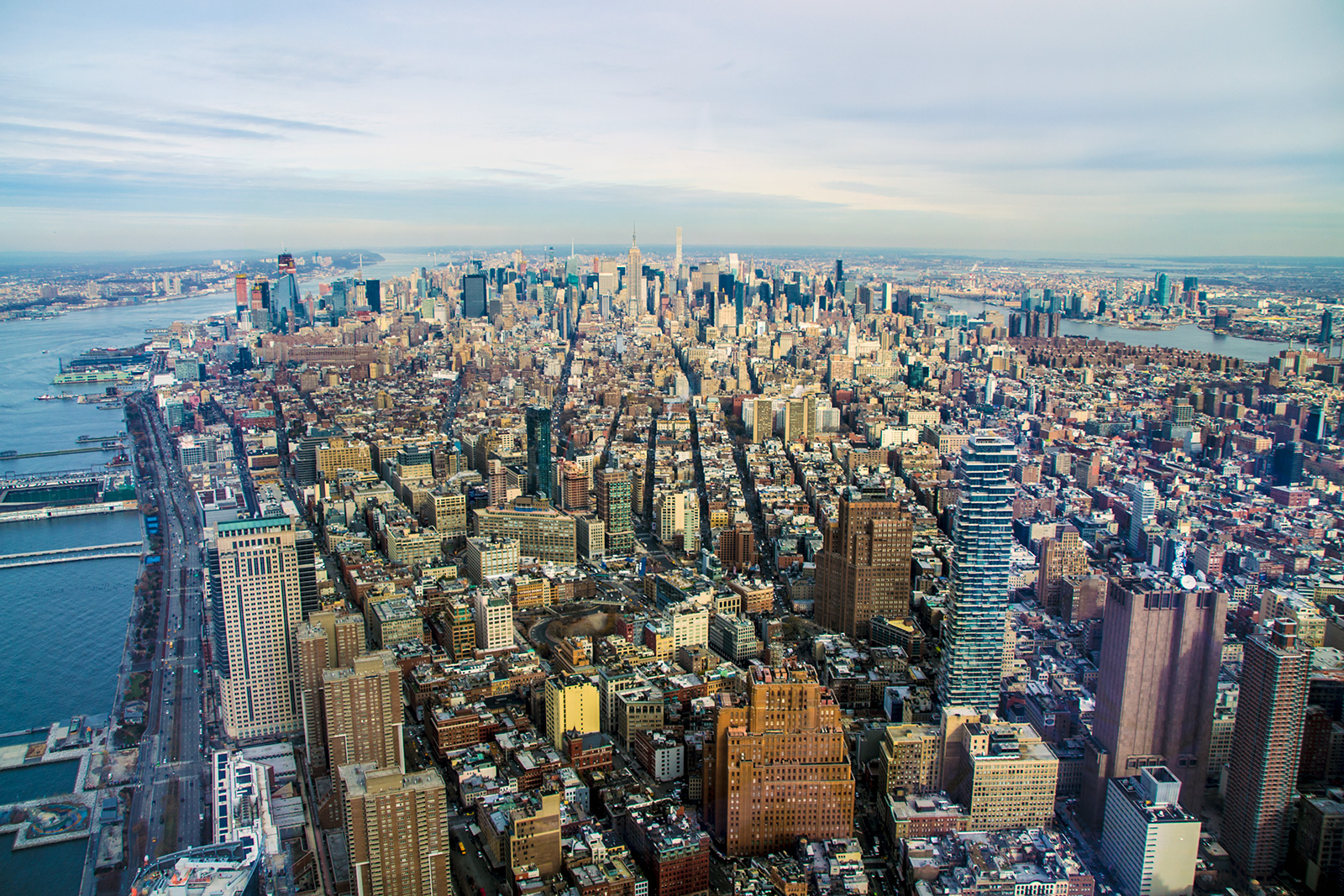 Vistas desde Freedom Tower - Mejores vistas de Nueva York