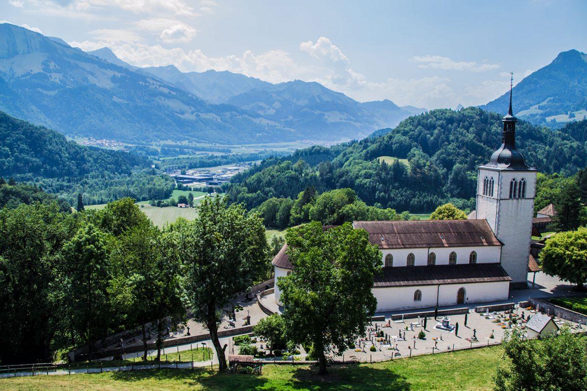 Vistas desde el castillo de Gruyères - qué ver en Gruyères