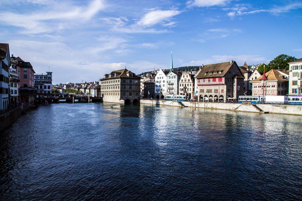 Vistas desde el mirador - que ver en Zúrich