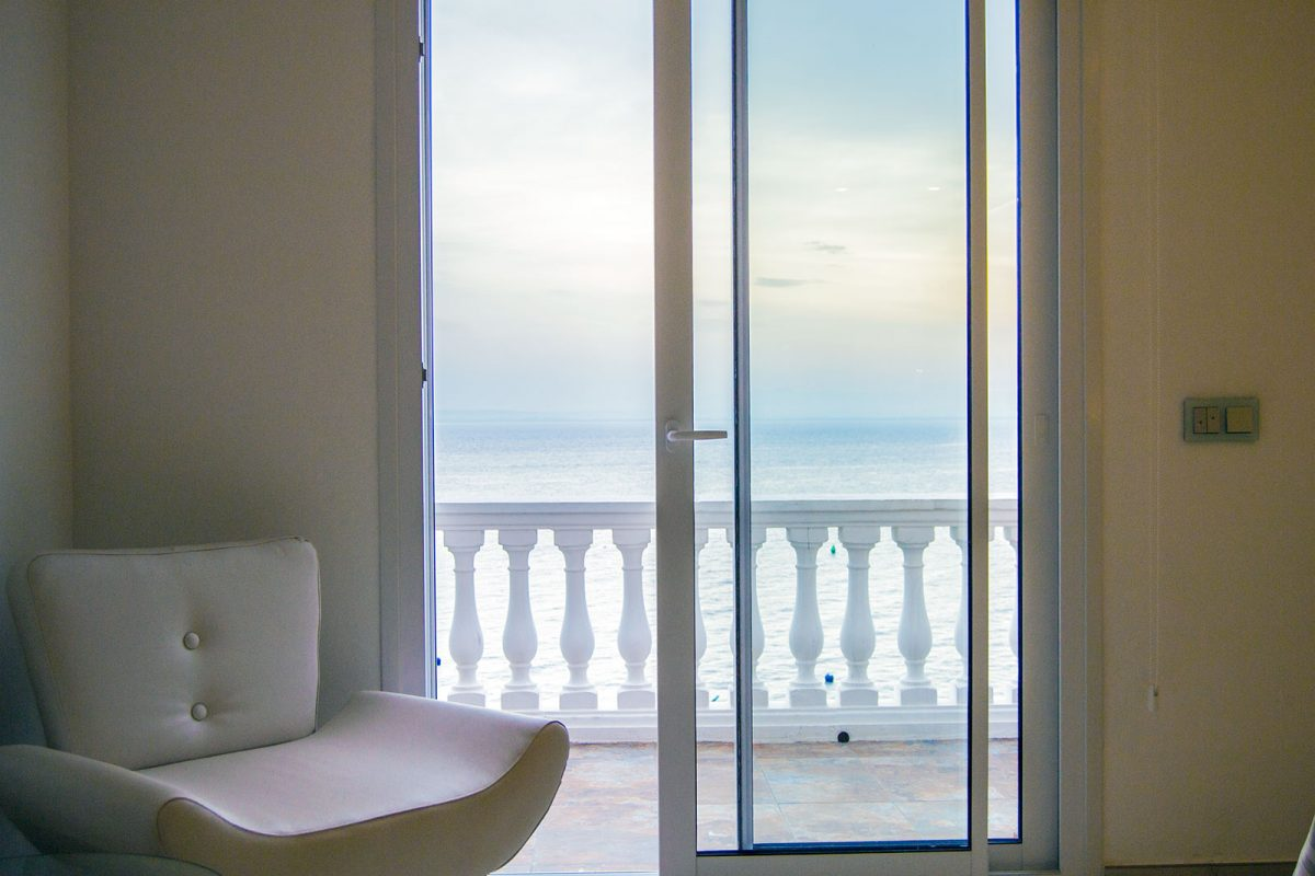 Vistas desde la habitación del Hotel Vistabella - regreso Costa Brava
