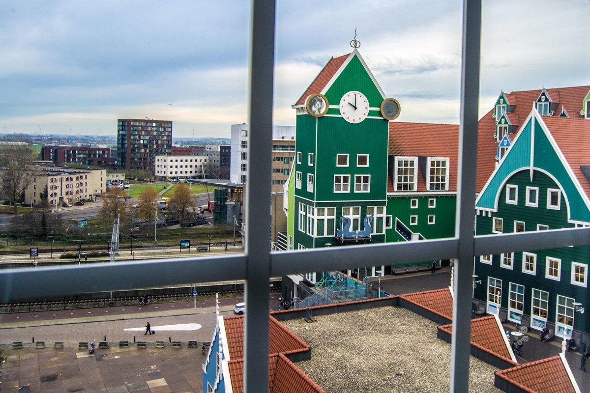 Vistas desde nuestra habitación en Inntel Zaandam