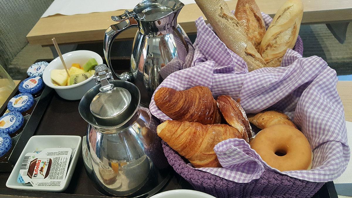 Bollería desayuno Hotel Barcelona Catedral