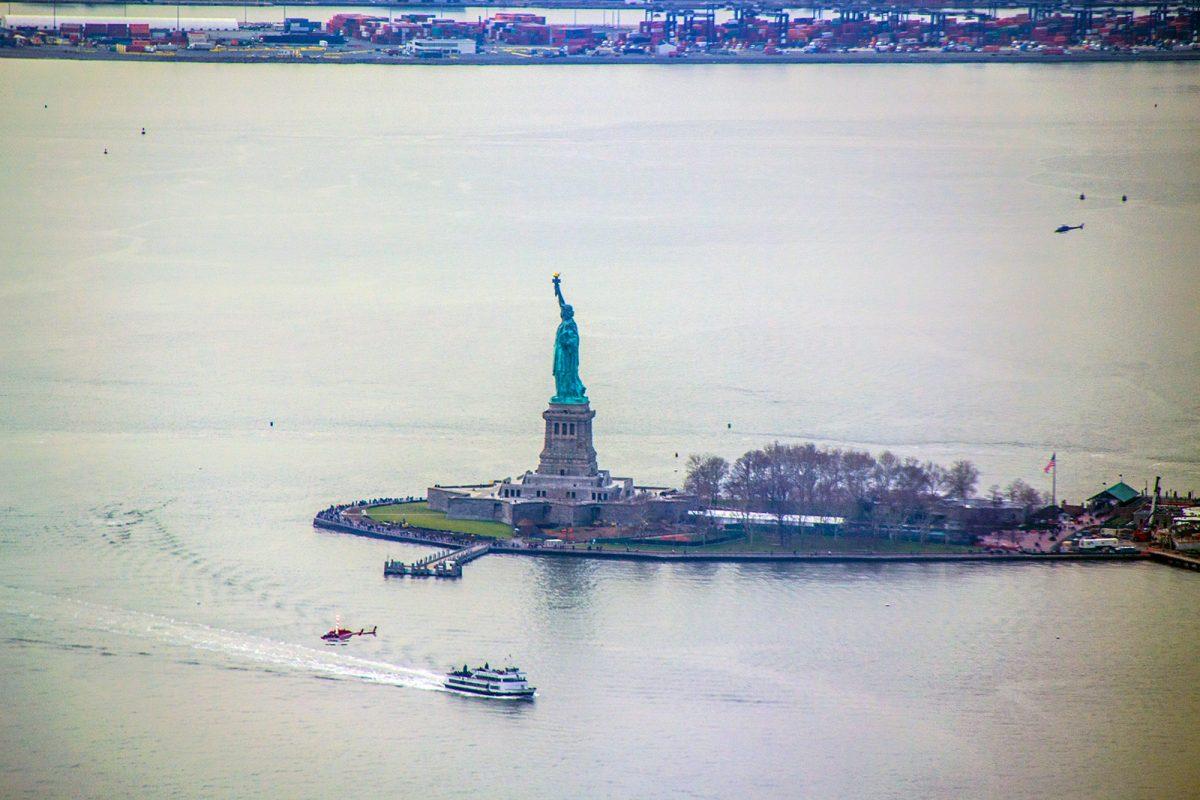 Estatua de la Libertad desde Freedom Tower - Mejores vistas de Nueva York