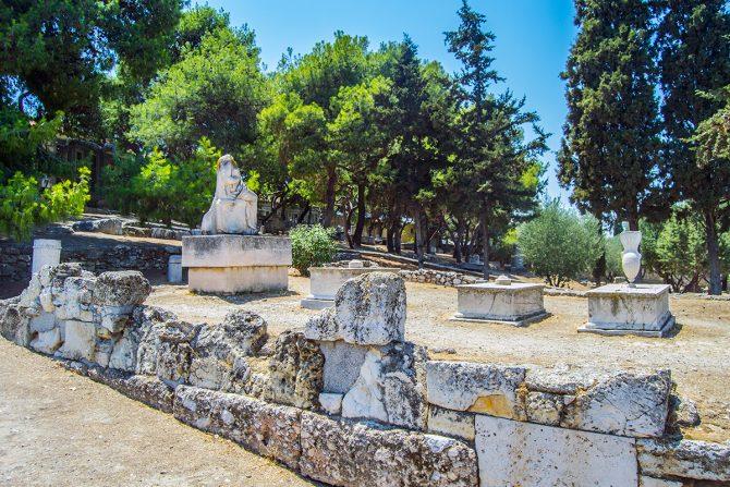 Imprescindibles de Atenas - Cementerio Keramikos