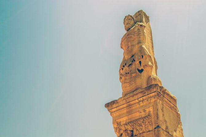 Imprescindibles de Atenas - Cementerio Keramikos escultura 1