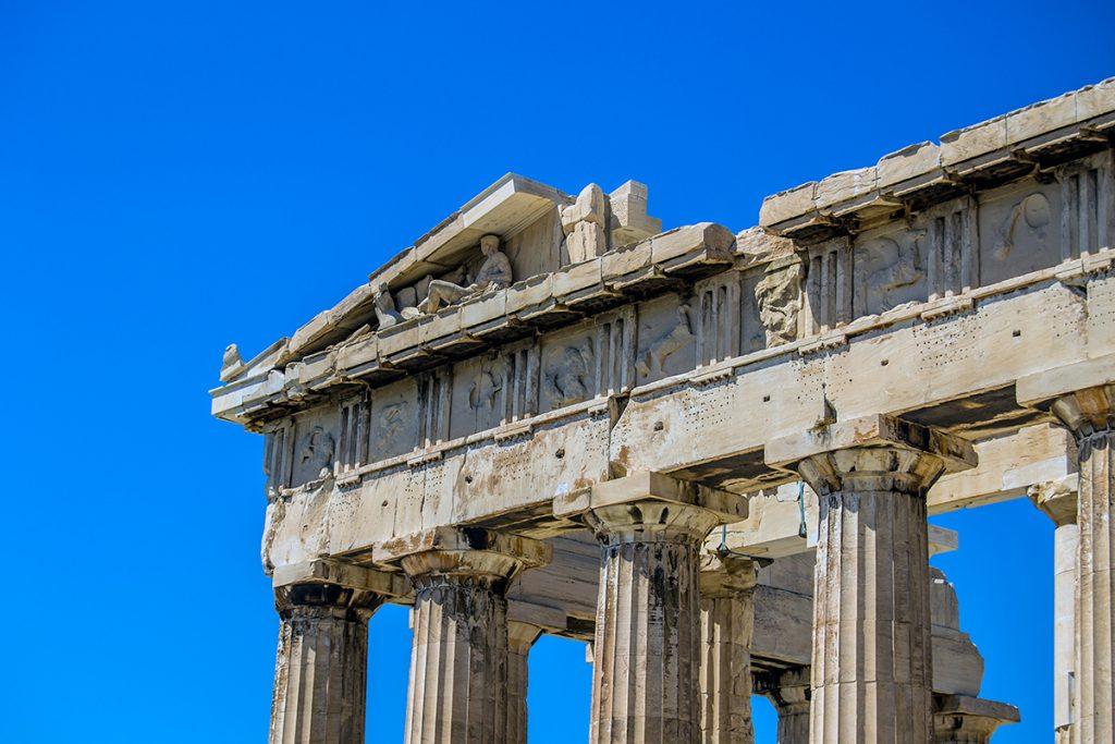 Imprescindibles de Atenas - Detalles del Partenón de Atenas