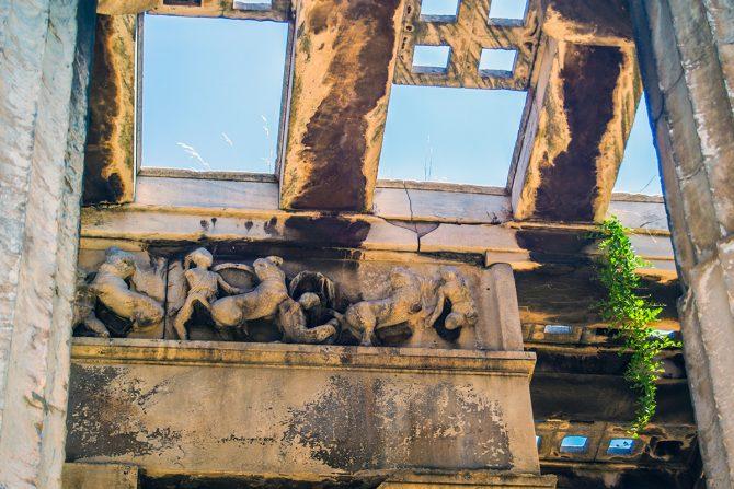 Imprescindibles de Atenas - Detalles templo de Hefesio
