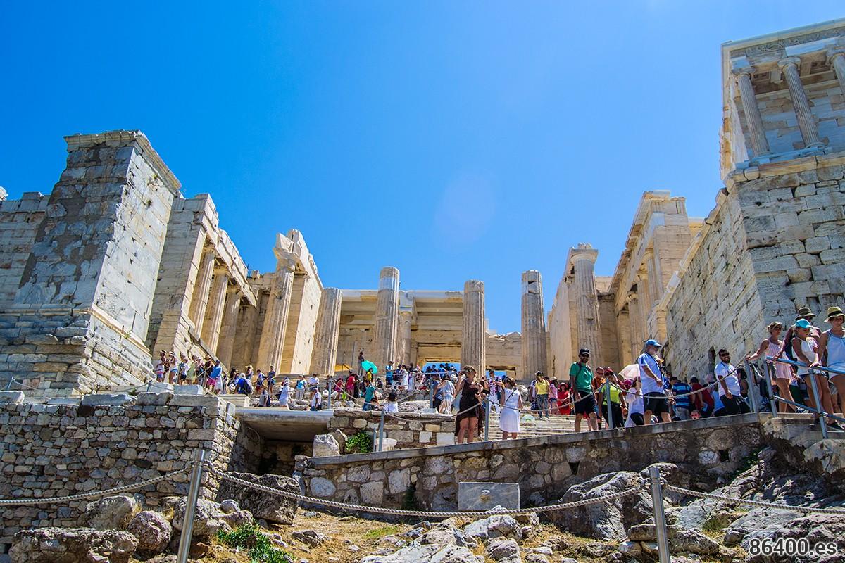 Imprescindibles de Atenas - Entrada a la Acrópolis