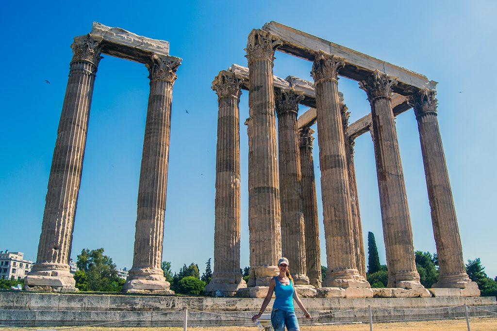 Imprescindibles de Atenas - Nerea en el Templo de Zeus