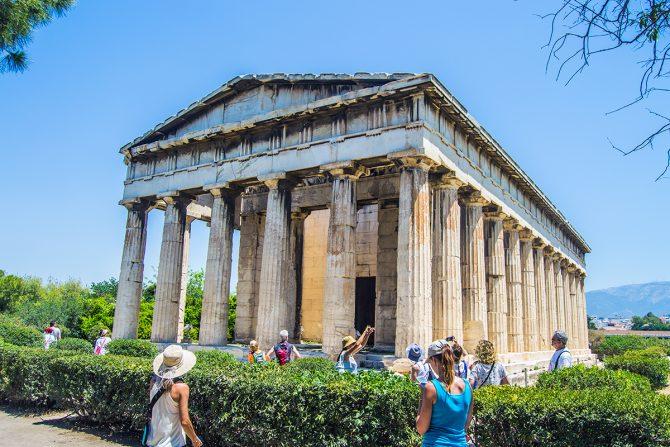 Imprescindibles de Atenas - Nerea y Templo de Hefesio