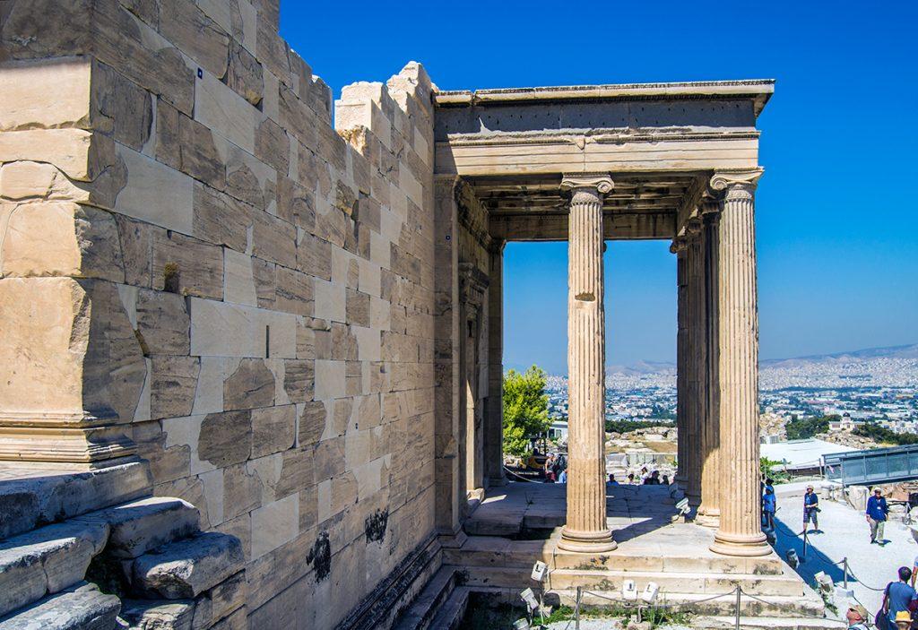 Imprescindibles de Atenas - Templo Erecteión y agujero