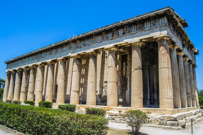 Imprescindibles de Atenas - Templo de Hefesio