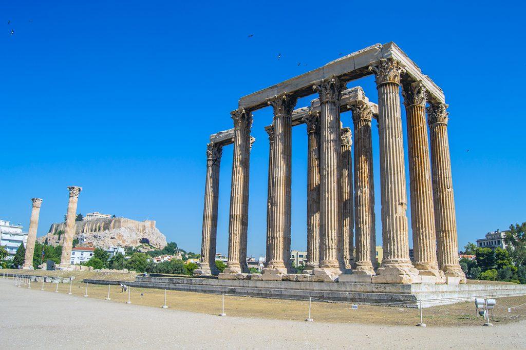 Imprescindibles de Atenas - Templo de Zeus