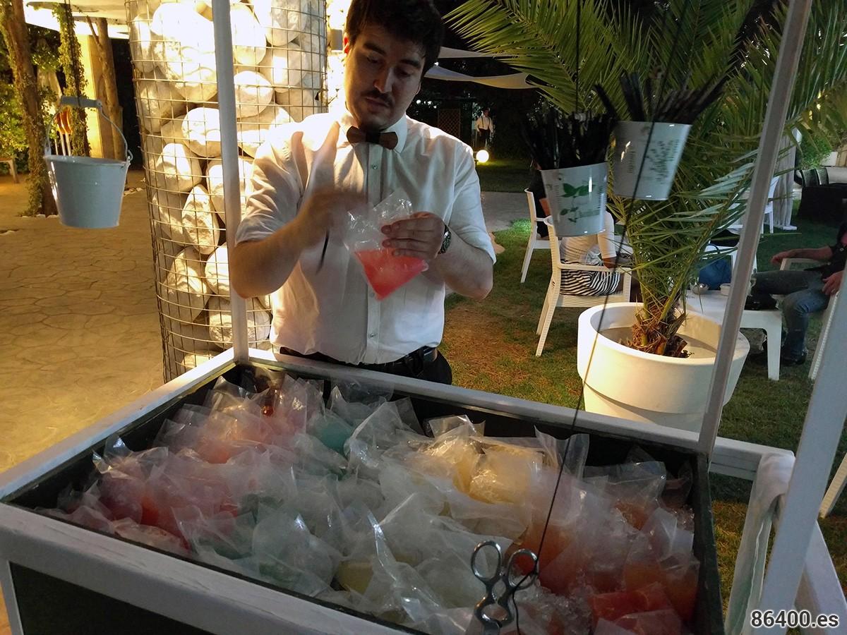 Coctelería Creativa en elrestaurante Gayarre