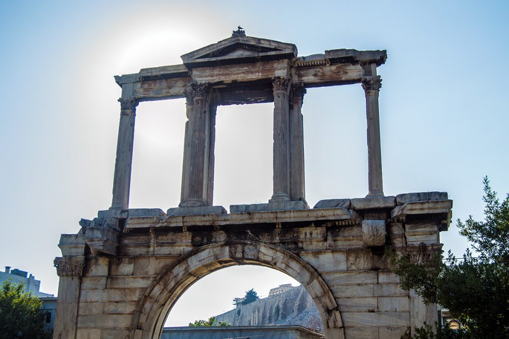 Arco de Adriano - Athens Photo Tour - formas alternativas de ver Atenas
