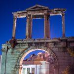 Arco de Adriano - Recorrido tour al atardecer en bicicleta won We-Bikes Atenas