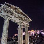 Arco de Adriano - Recorrido tour al atardecer en bicicleta won We-Bikes Atenas 2