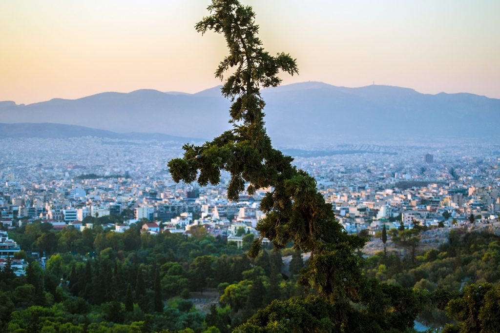 Atardecer en Atenas - Athens Photo Tour - formas alternativas de ver Atenas