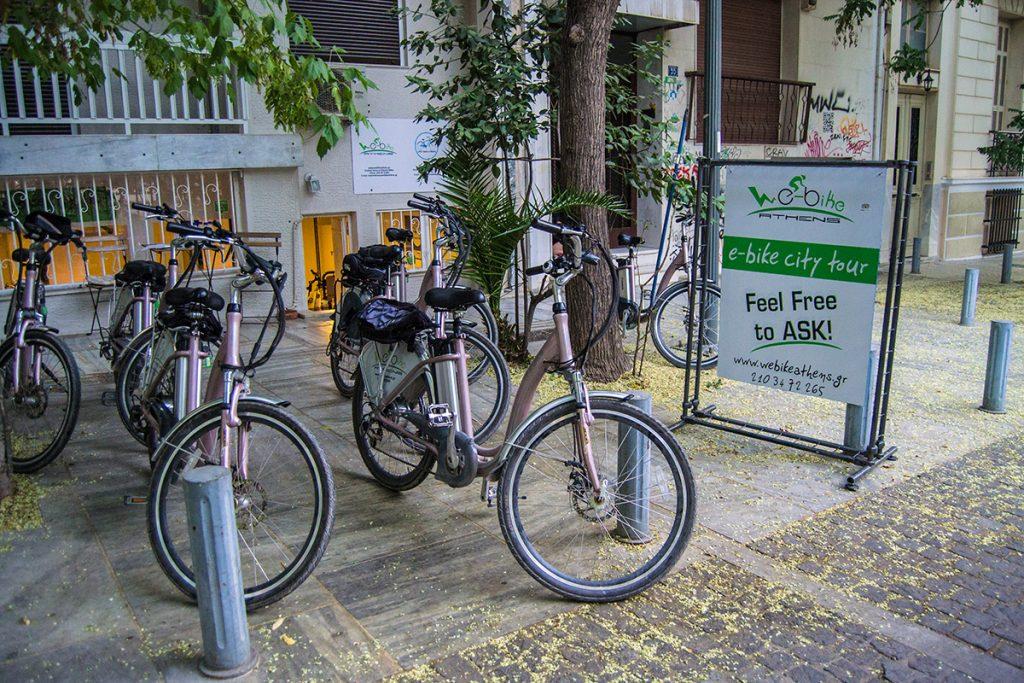 Biclicletas We-Bikes Atenas - formas alternativas de ver Atenas