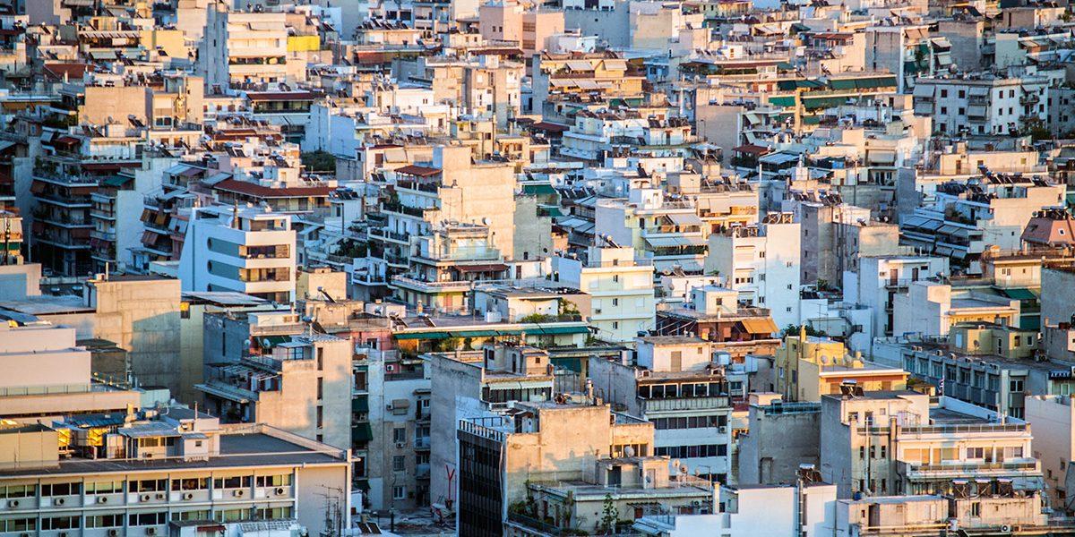Vista de la ciudad de Atenas - Athens Photo Tour