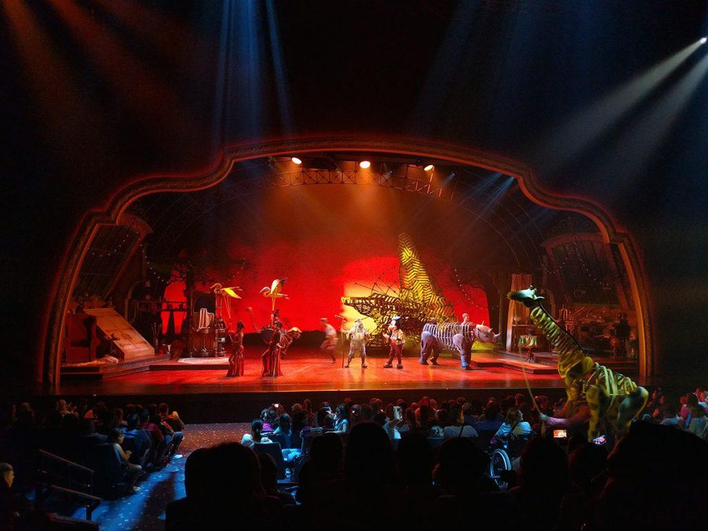 Espectáculo Mickey and the Magican - Consejo Disneyland París