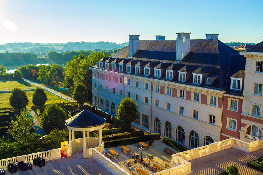 Jardines del Hotel Vienna House Dream Castle - Consejo Disneyland París