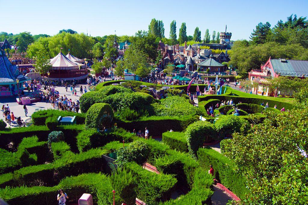 Laberinto Alicia en el país de las maravillas- Consejos Disneyland París