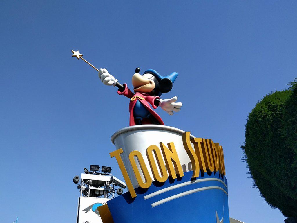 Mickey en Walt Disney Studios - Consejo Disneyland París