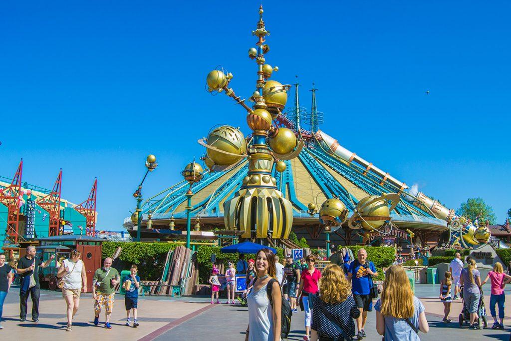 Montaña rusa Space Mountain - Consejo Disneyland París