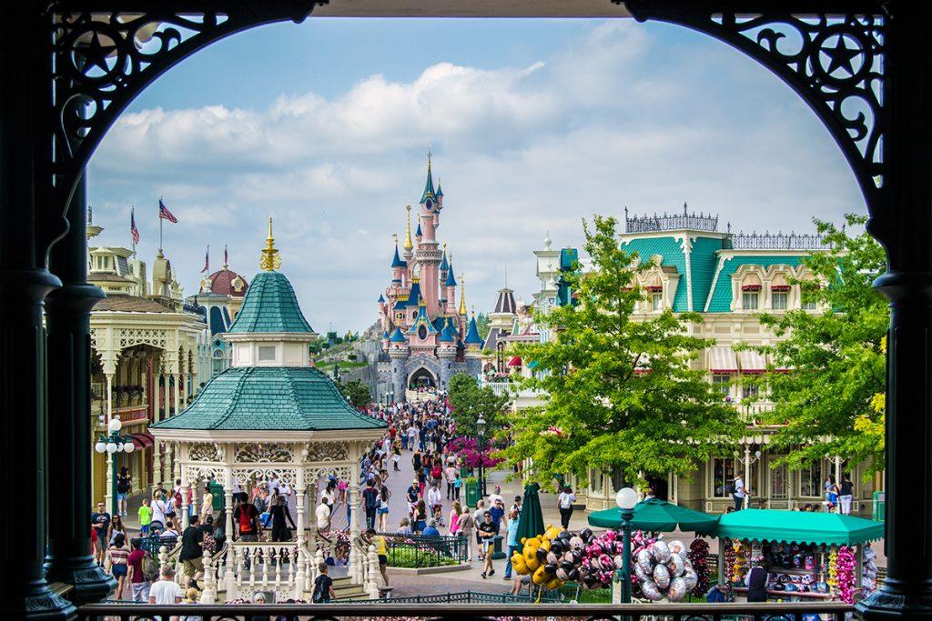 Vista de Main Street - Consejos Disneyland París