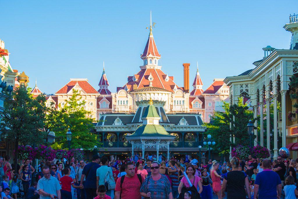 Vistas de Main Street - Consejos Disneyland París