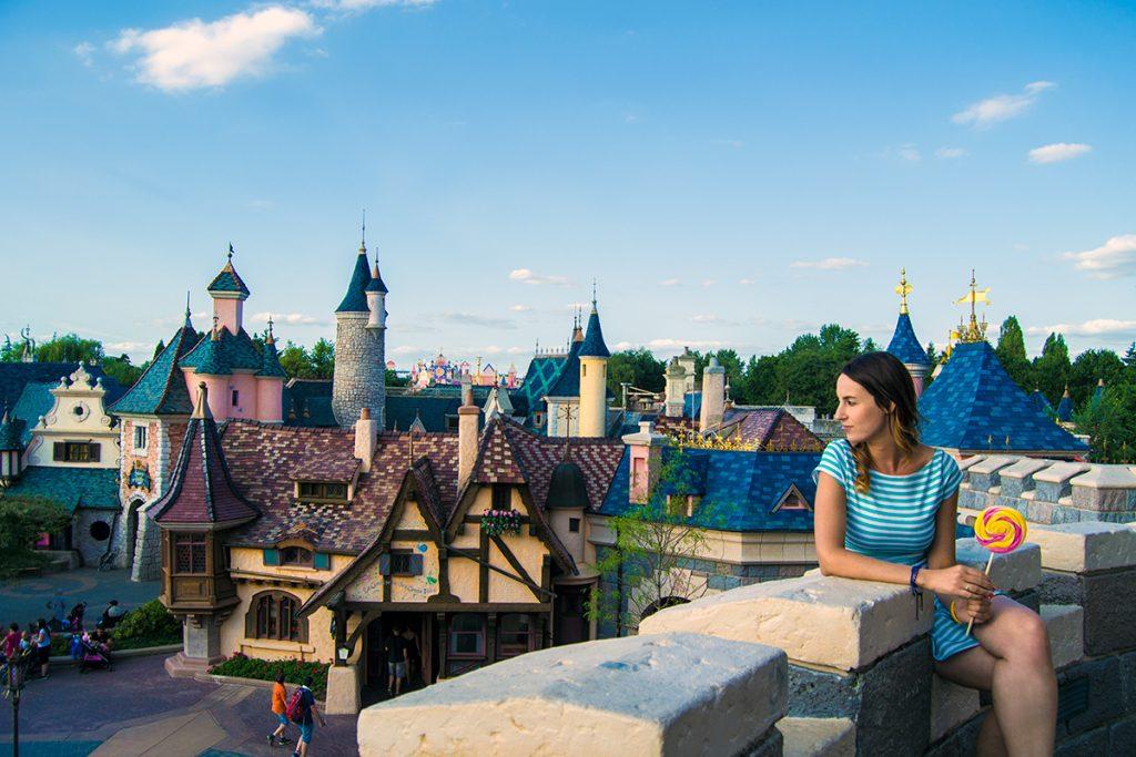 Vistas del reino desde el castillo de Cenicienta- Consejos Disneyland París