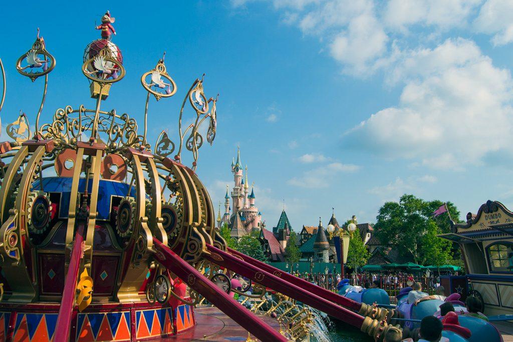 Vistas desde la atracción de Dumbo - Consejos Disneyland París
