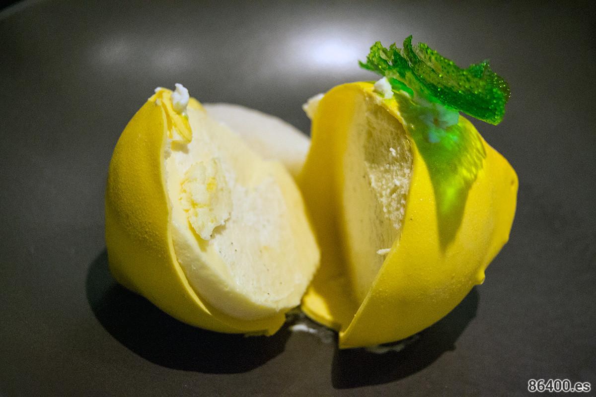 """""""El color amarillo del limón"""" y avellanas abierto"""