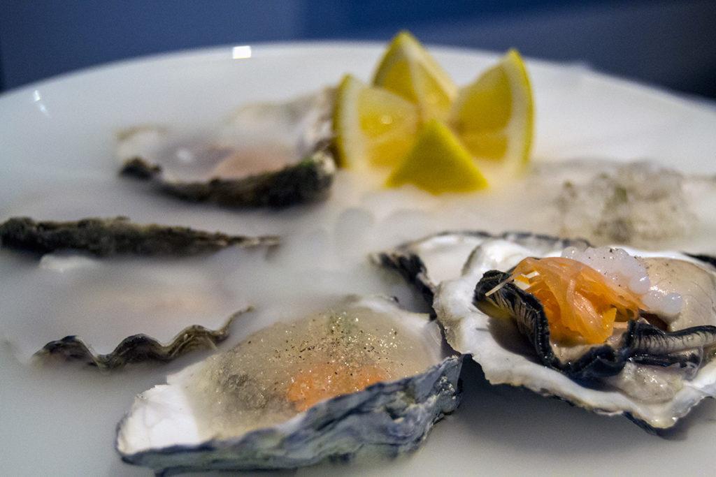 6 ostras Gillardeau número 2 en diferentes preparaciones