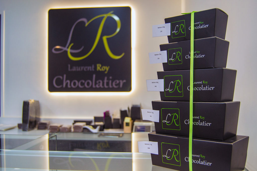 Chocolatería artesanal Laurent Roy - Comer en París
