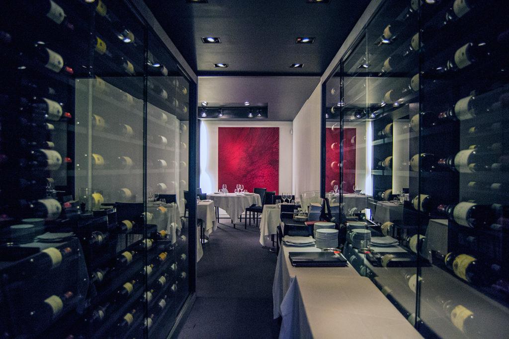 """Decoración del Restaurante """"Le Chiberta"""" de Guy Savoy - Comer en París"""