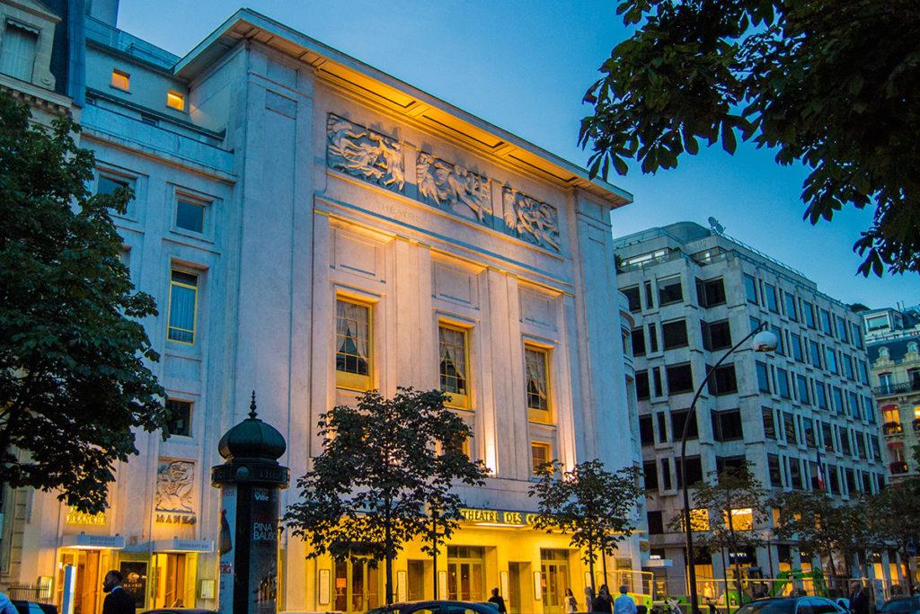 Entrada del Restaurante Maison Blanche - Comer en París