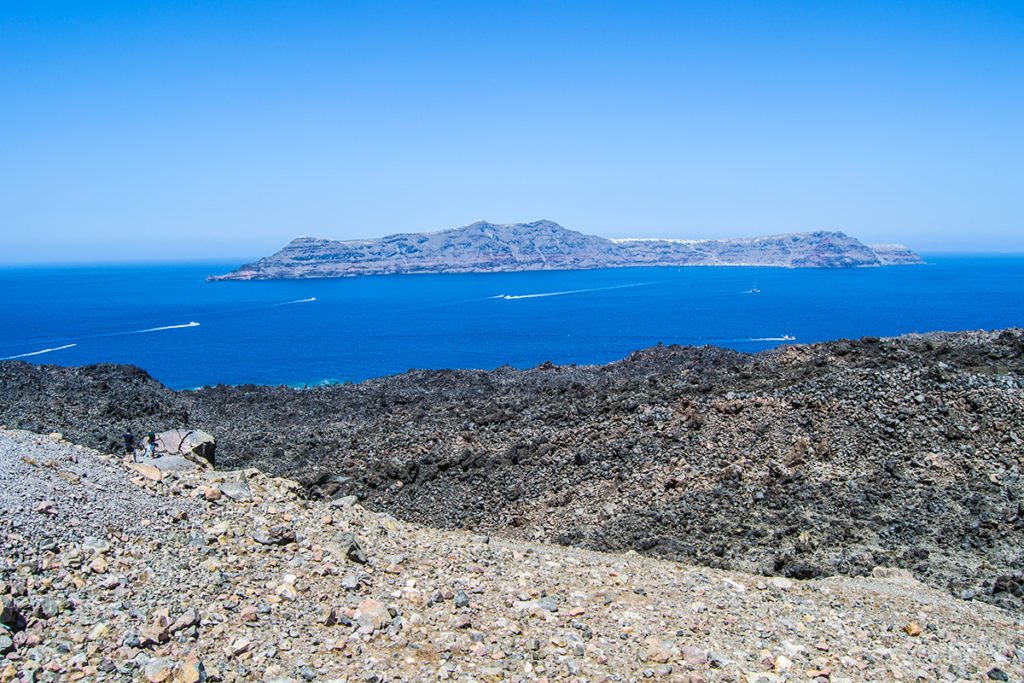 Vistas desde la caldera de Santorini - Descubrir Santorini