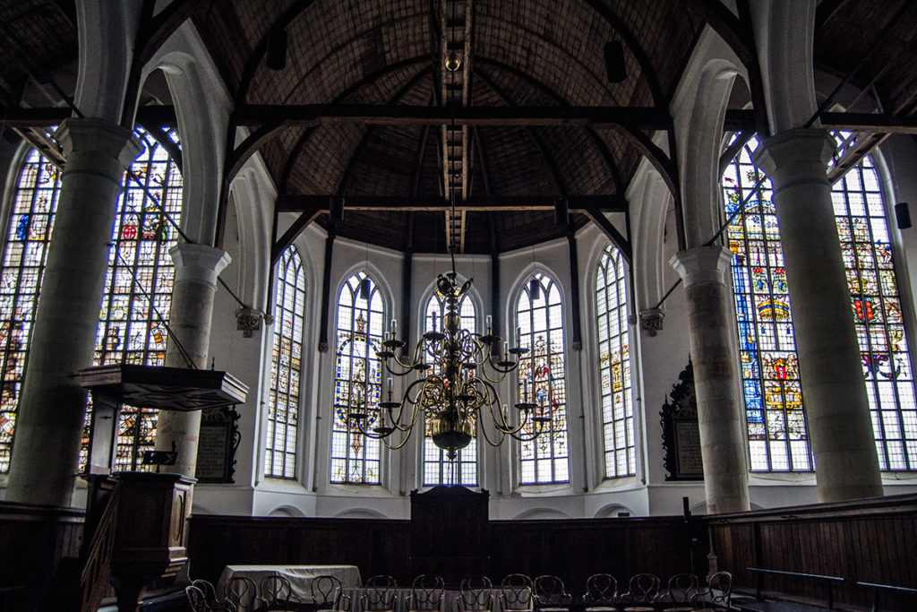 Altar del Grote Kerk de Edam – Edam y Volendam