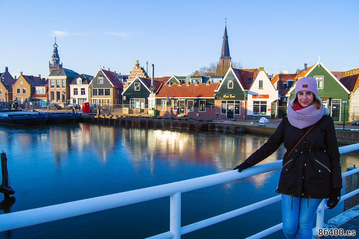 Nerea en el puerto de Monnickendam - Monnickendam y Marken