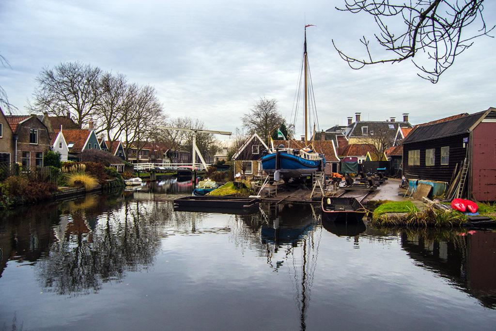 Vistas desde nuestra habitación en el Hotel Fortuna de Edam – Edam y Volendam