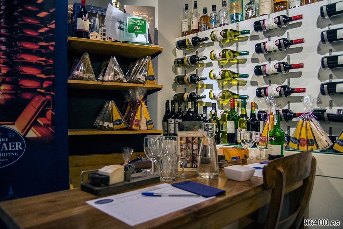 Cata de queso en De Reypenaer – Disfrutar Amsterdam