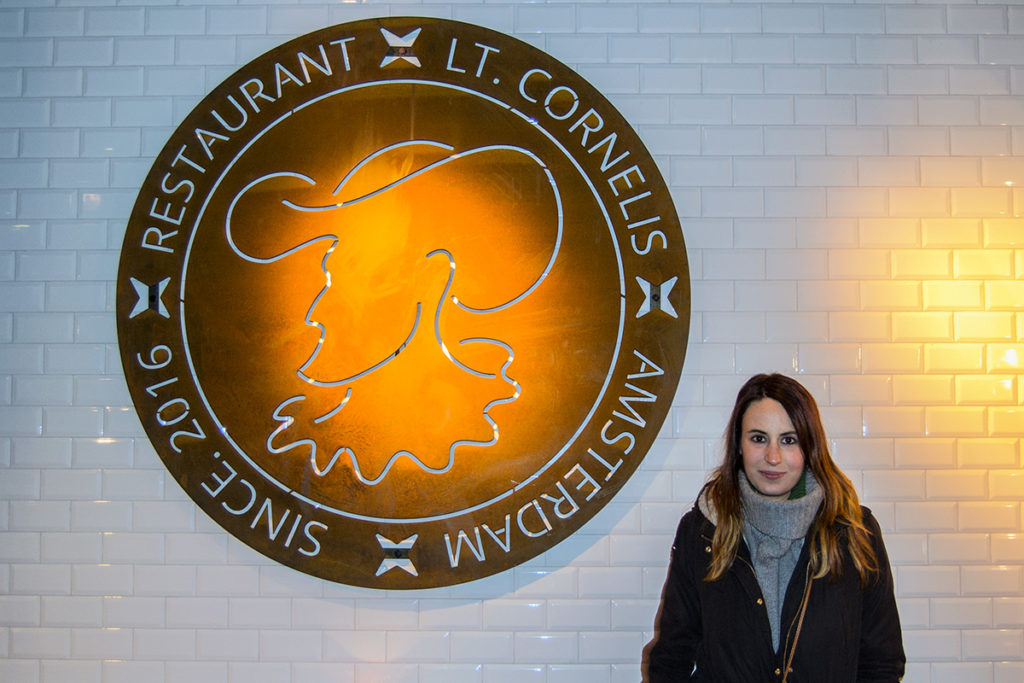 Cena en el restaurante LT. Cornelis – Disfrutar Amsterdam