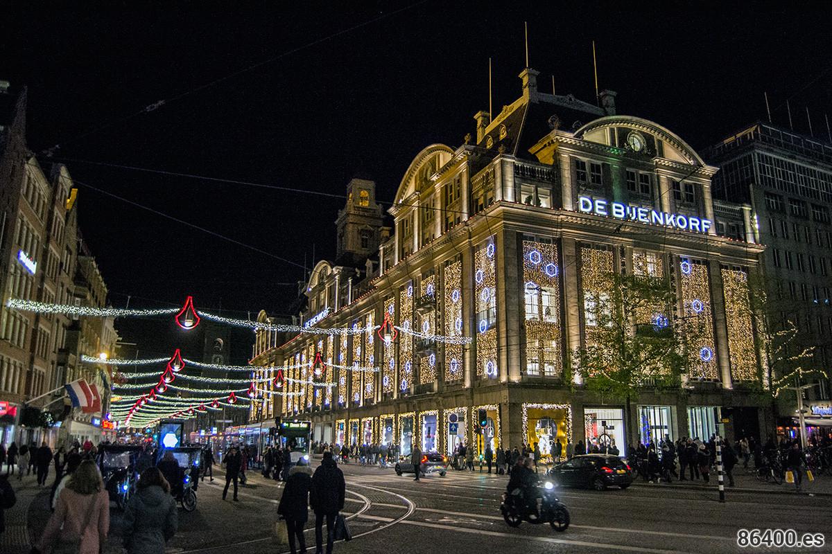 Grandes almacenes de Bijenkorf - Disfrutar Amsterdam