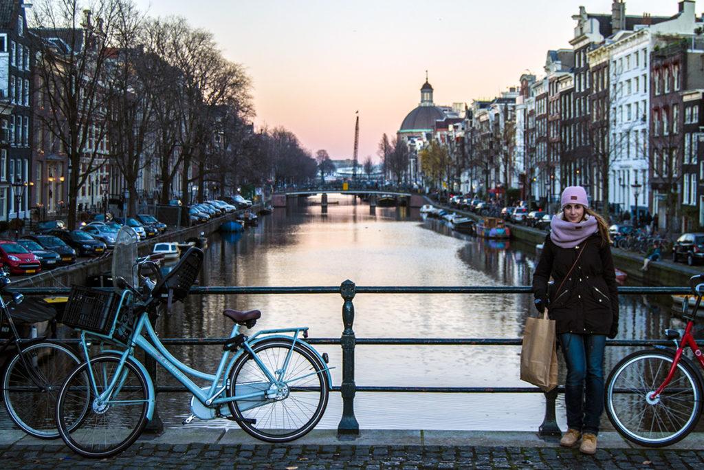 Nerea de compras por Amsterdam – Disfrutar Amsterdam