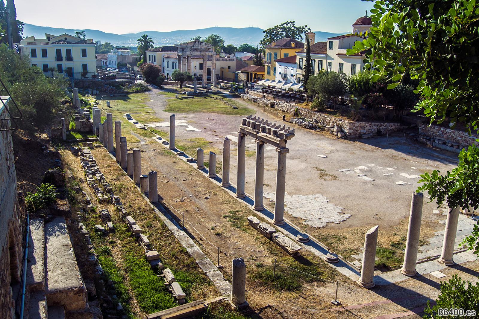Ágora de Atenas - turismo atenas