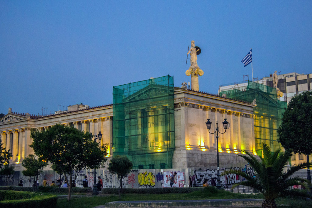 Academia Nacional de Grecia - Explorando Atenas