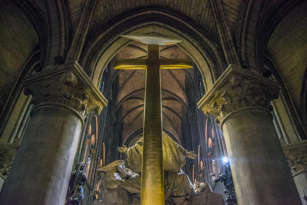 Interior Catedral de Notre Dame – París Pass de dos días