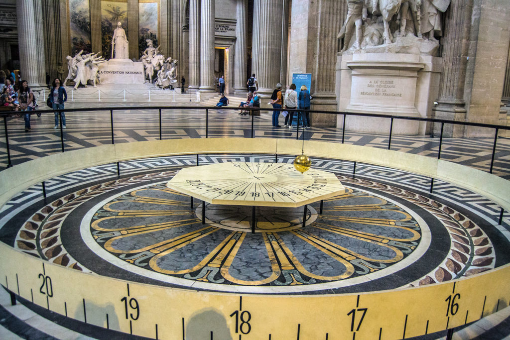 Péndulo de Foucault del Panteón de París – París Pass de dos días